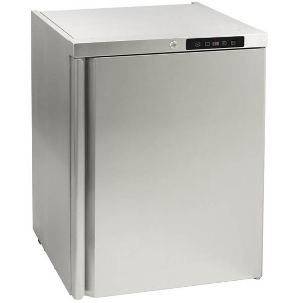 "The All Pro 24"" Outdoor Refrigerator has a beautiful seamless design. You get the most for your money with this refrigerator. The price won't burn a hole in your pocket and the performance is not compromised. There is a digital thermostat as well as a lock."