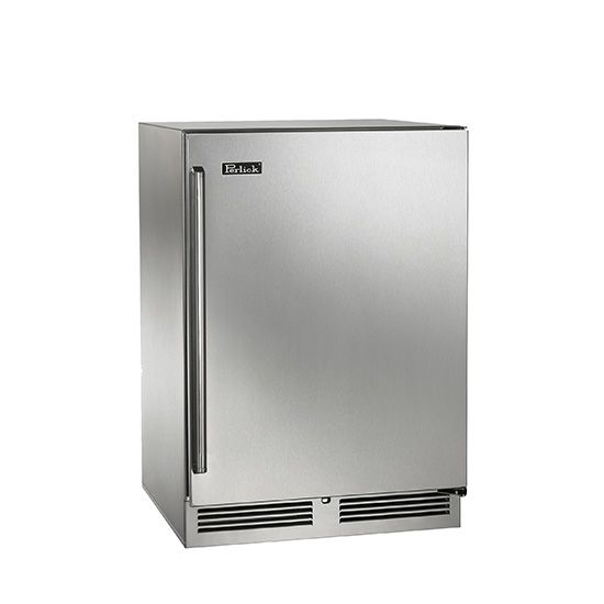 "Perlick is leading the refrigerator with its quality and craftsmanship. The 24"" Signature Series Refrigerator is the Rolls Royce of 24"" outdoor rated refrigerators. This is the most expensive of those on the list."