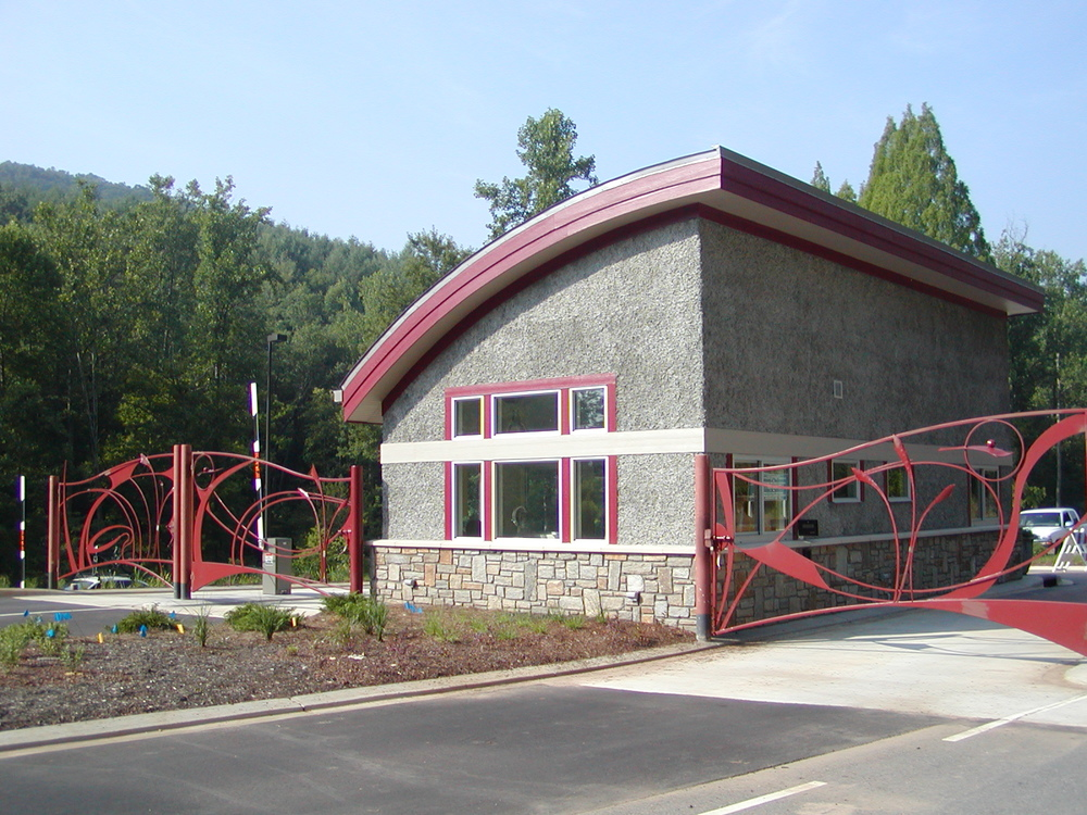 Entry Gates to The North Carolina Arboretum