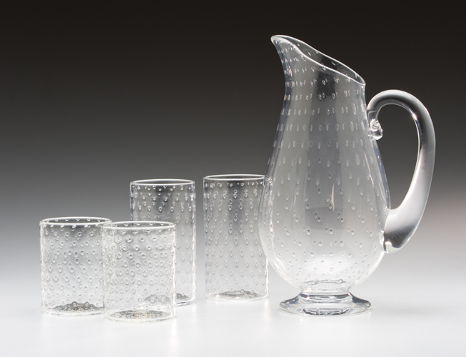 Bubble Pitcher & Glasses