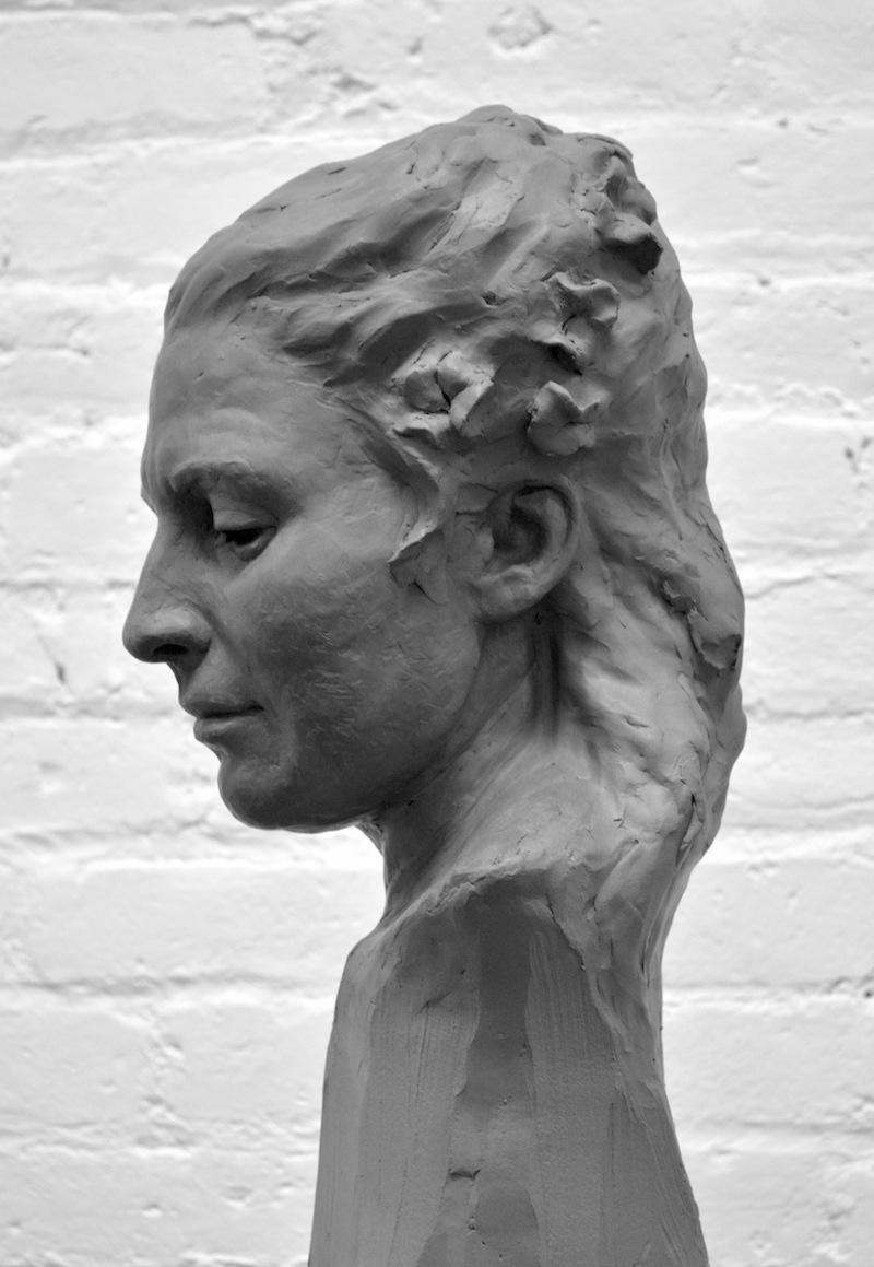 Perception: portrait in clay