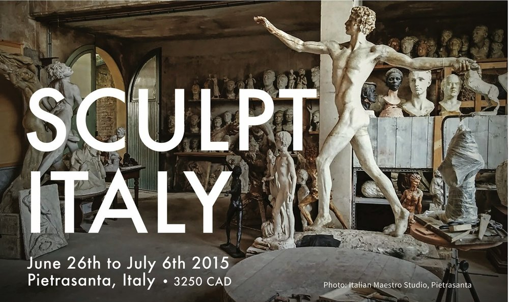 sculpture course italy