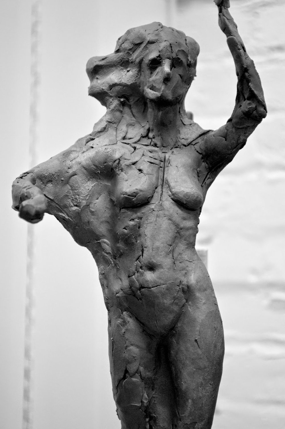 Keep Reading: Sculpting A Female Figure Sculpture in Clay post 2: Setting  the Pose
