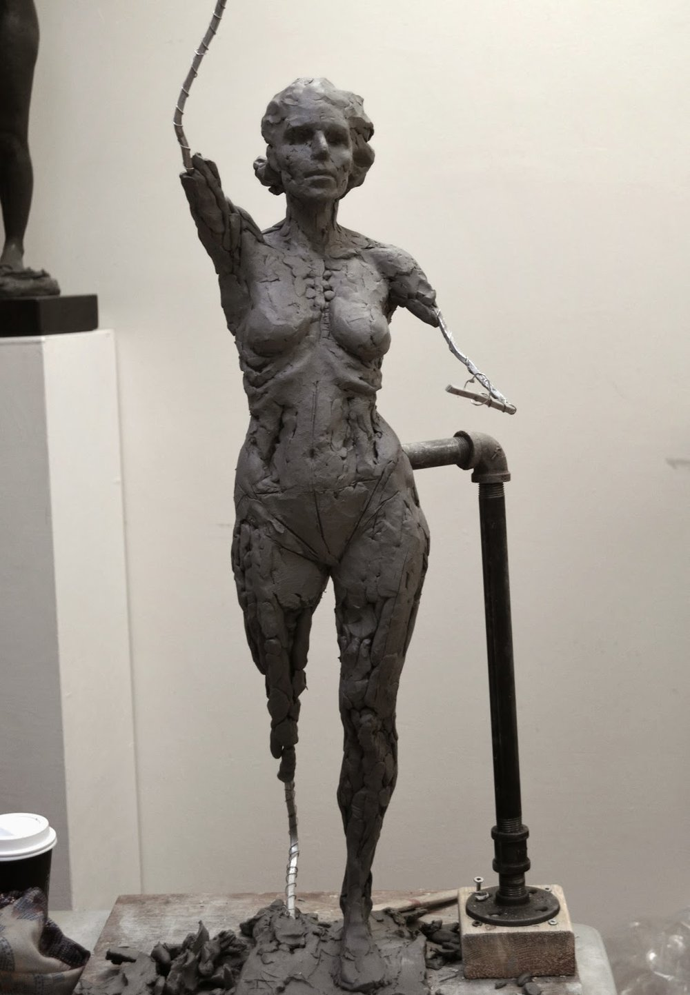 Keep Reading: Sculpting A Female Figure Sculpture in Clay post 4- Spot the  Difference: Gesture