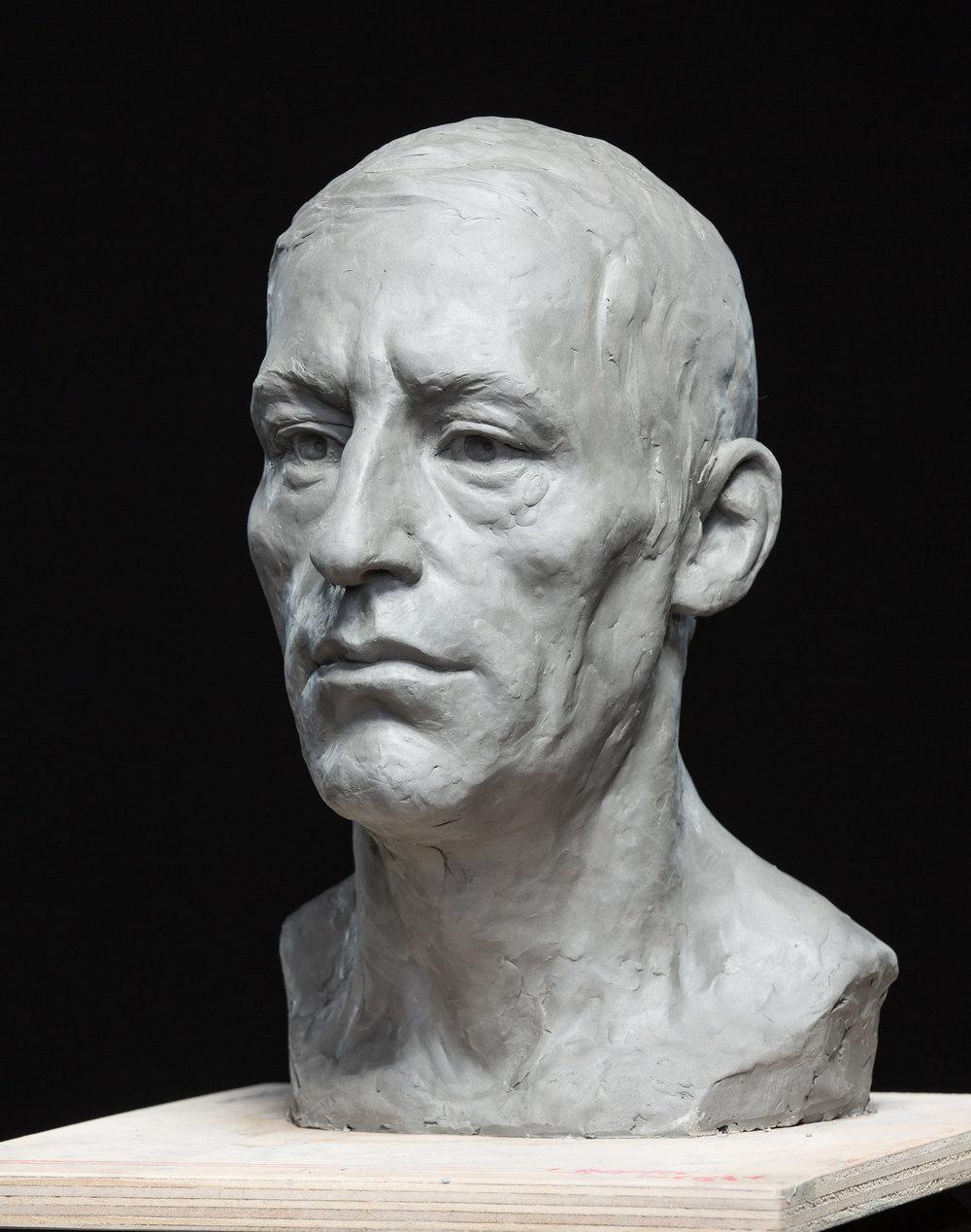Portrait Study in Clay