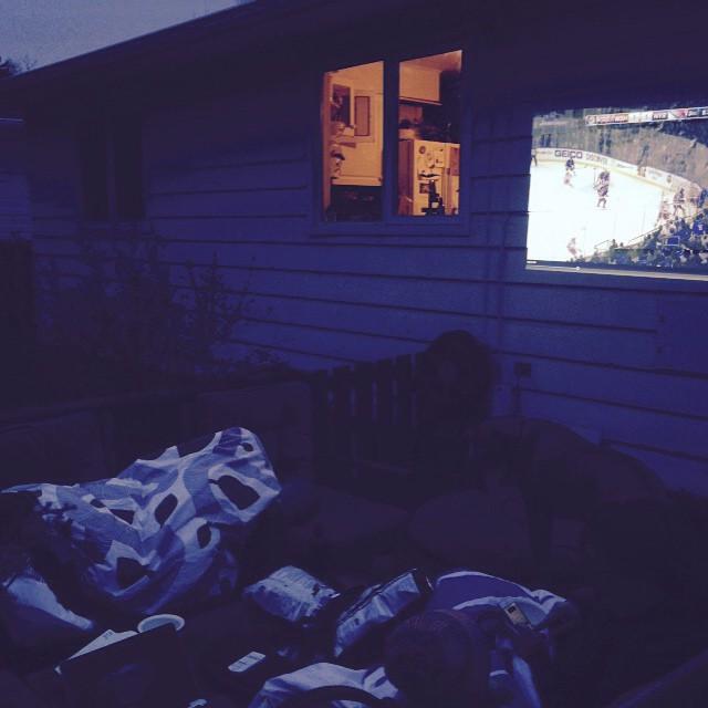 Hockey + Patio