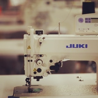 Concept   Prototype   Production  Usually involves this tool of the trade.  #juki #apparelresearch  #apparelinnovation  #yyc  #yycfashion
