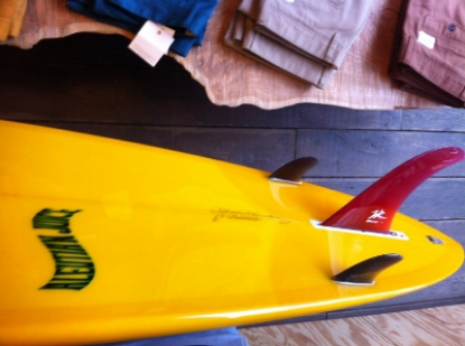 Aleutian Juice Surfboards in Pilgrim Surf + Supply, Brooklyn.