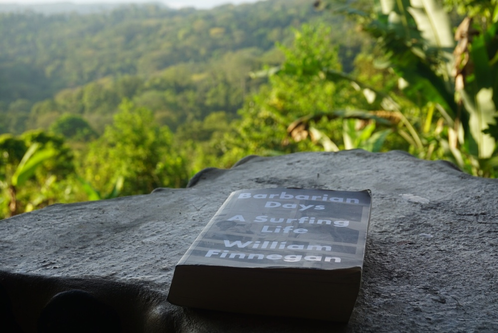 Barbarian Days  in the jungle of Costa Rica at Rancho Diandrew where this copy will live after I am gone.