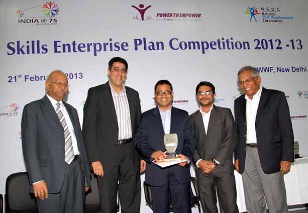 Ajaya P2E award.jpg