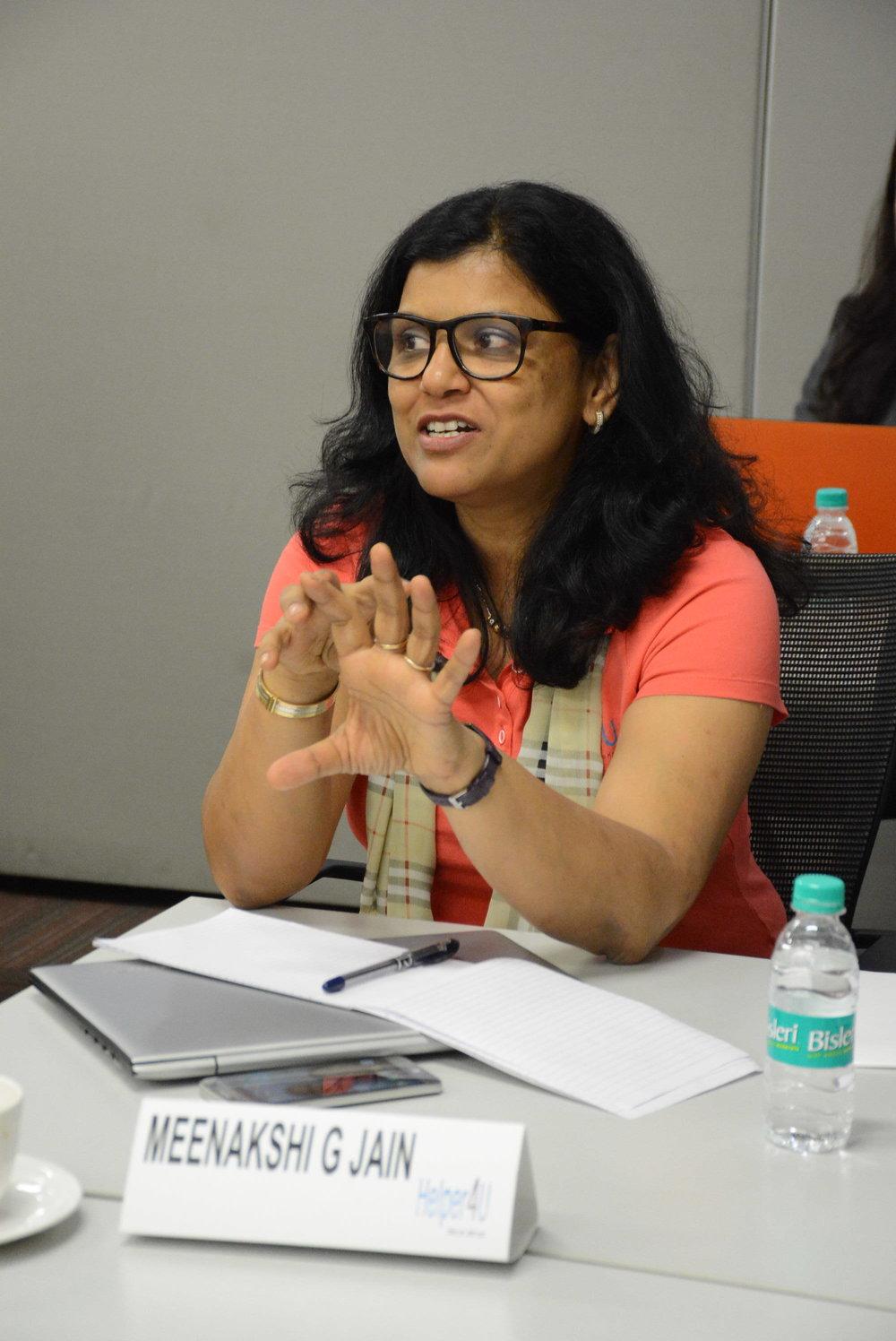 Meenakshi Gupta Jain, Helper4U