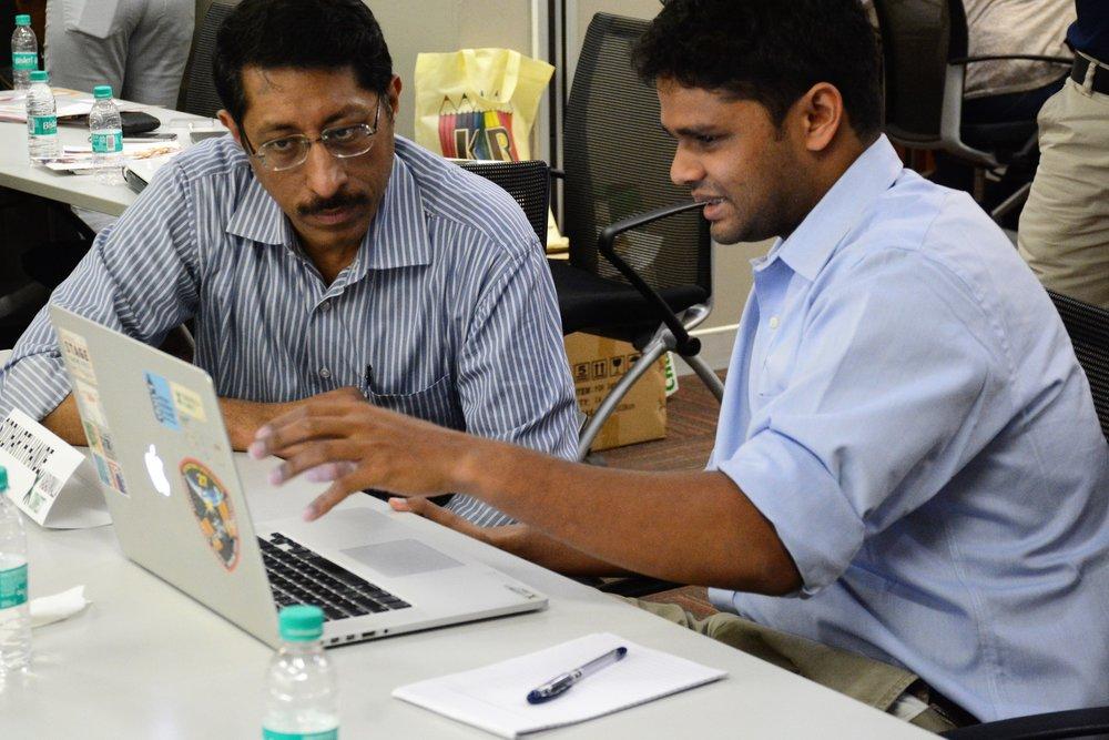 Devangshu Dutta, PVC Partners  Siddarth Hande, Kabadiwalla Connect