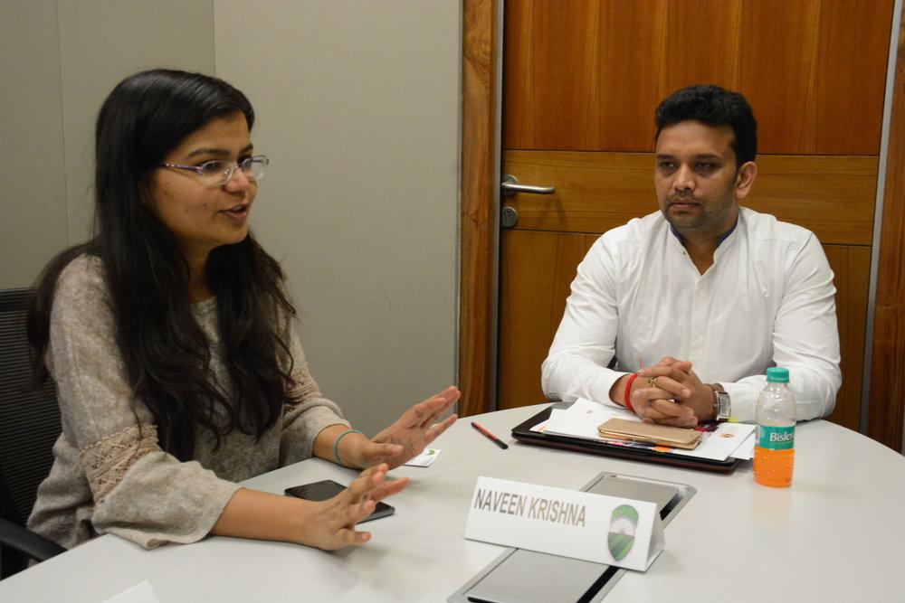 Alpana Srivastava, Asha Impact  Naveen Mehta, SMV Green Solutions