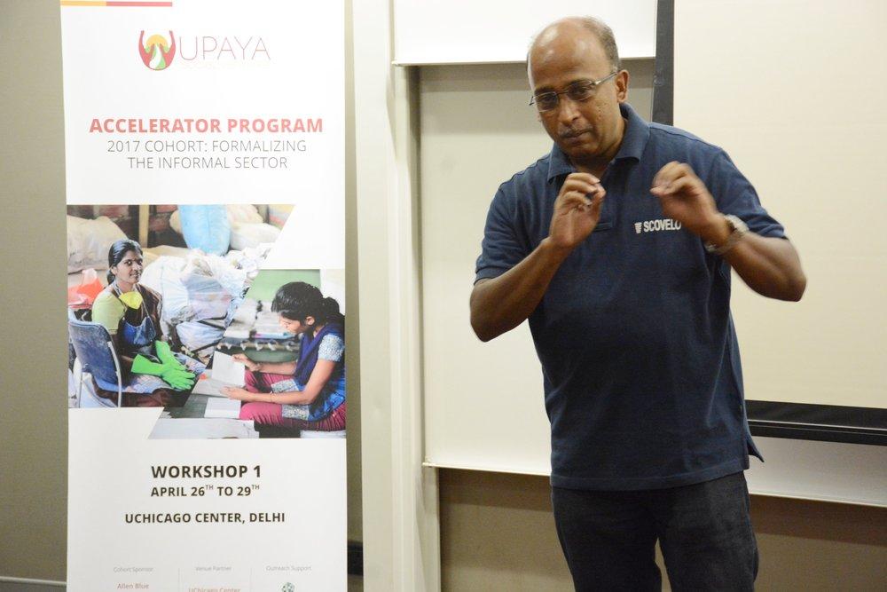 Balaji Chakravarthi, ScoVelo Consulting