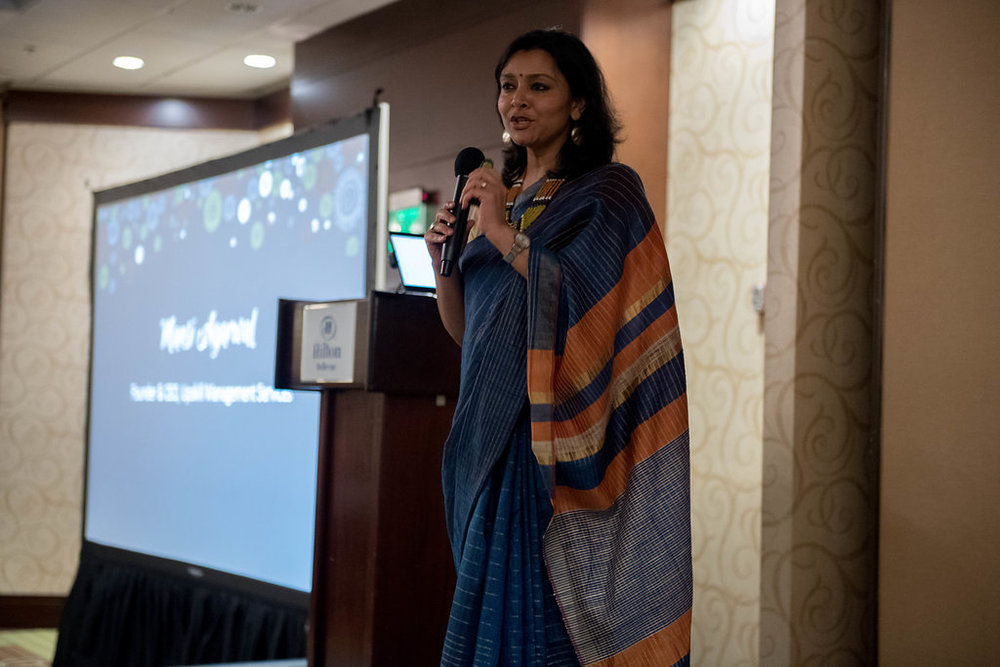 Mansi Agarwal Speaking and 2018 Upaya Gala