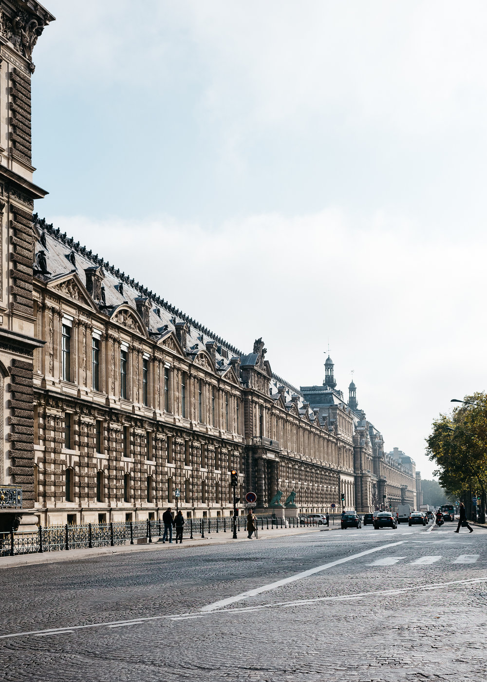 Buildings near Jardin Tuileries