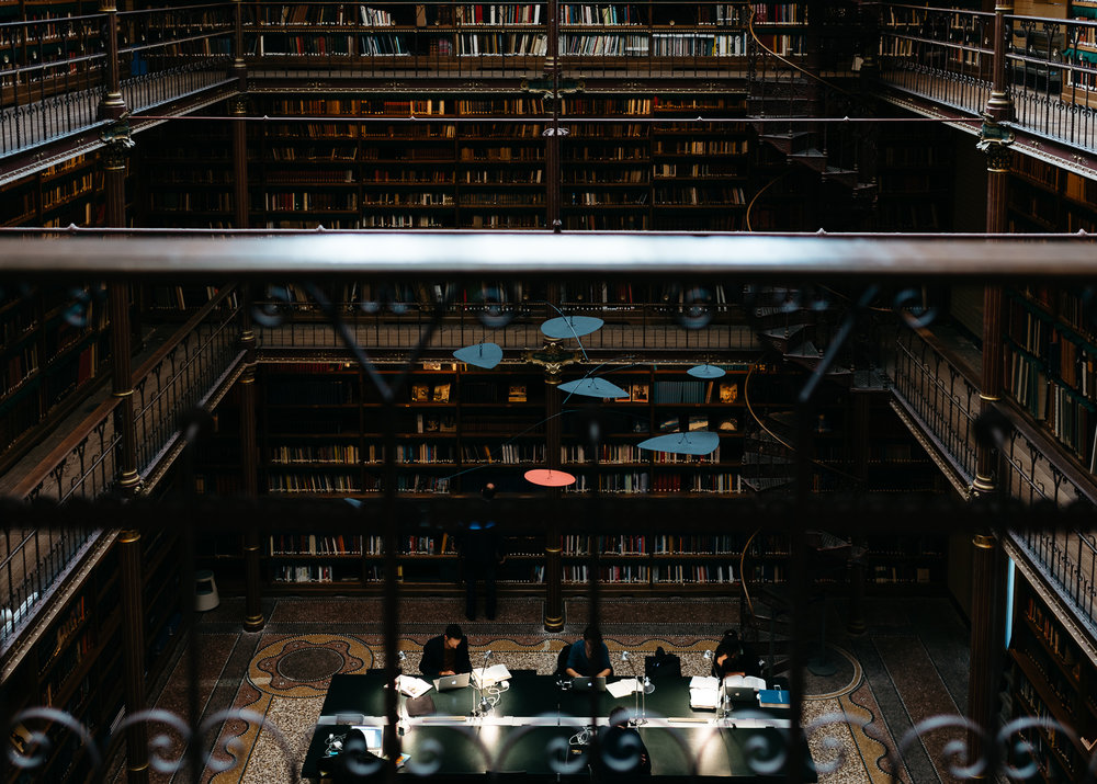 Library in Rijksmuseum
