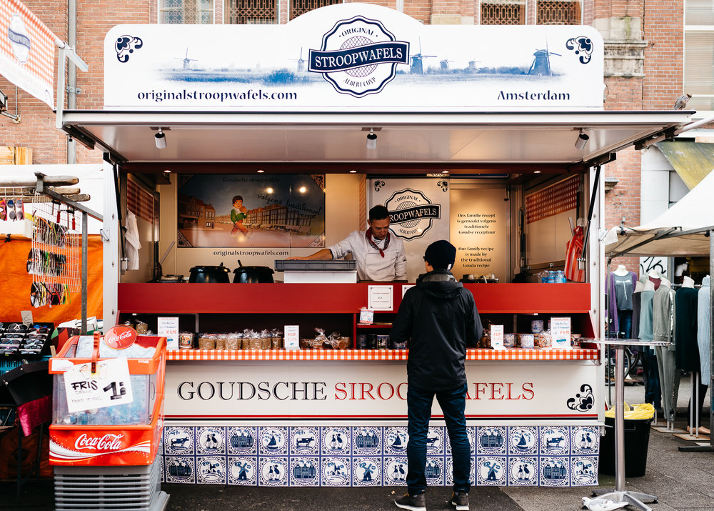 Original Stroopwafels at Albert Cuyp Market
