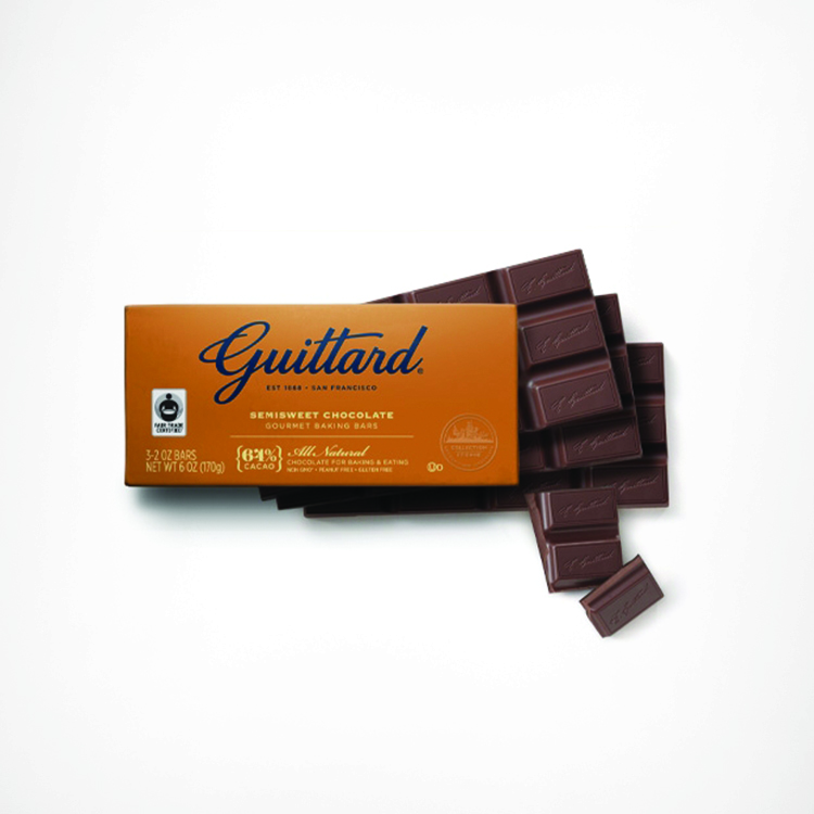 Guittard Semisweet Chocolate Baking Bars (64% cacao)