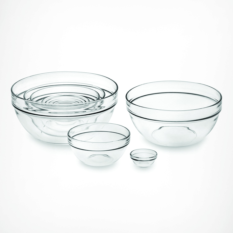 Williams-Sonoma 10-Piece Glass Mixing Bowl Set