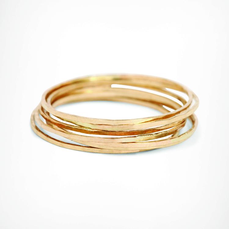 Catbird Threadbare Rings