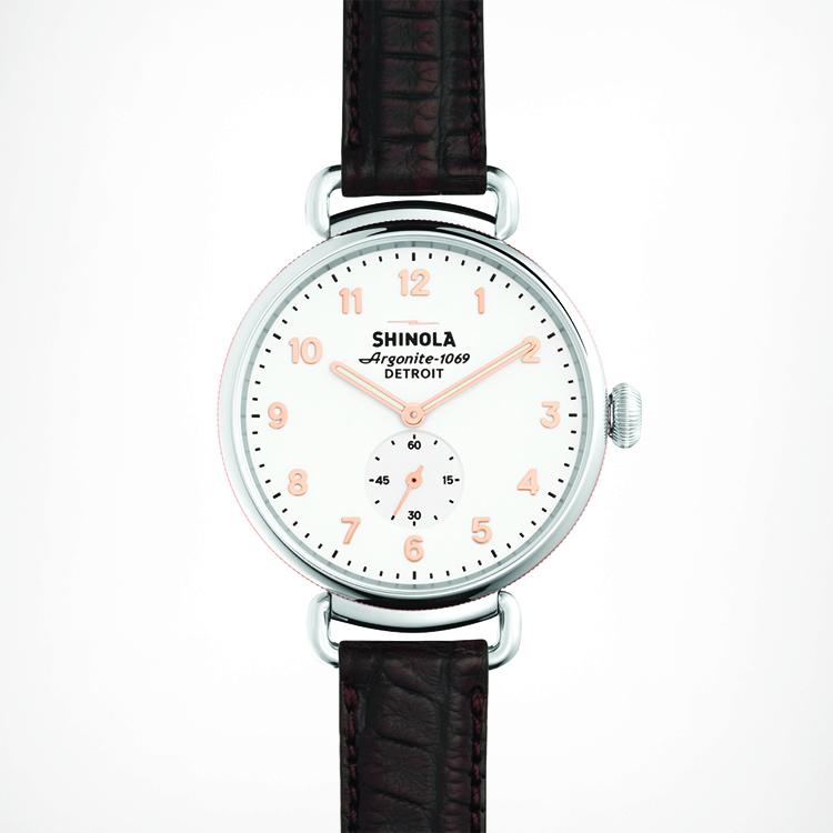 Shinola The Canfield 38mm Watch