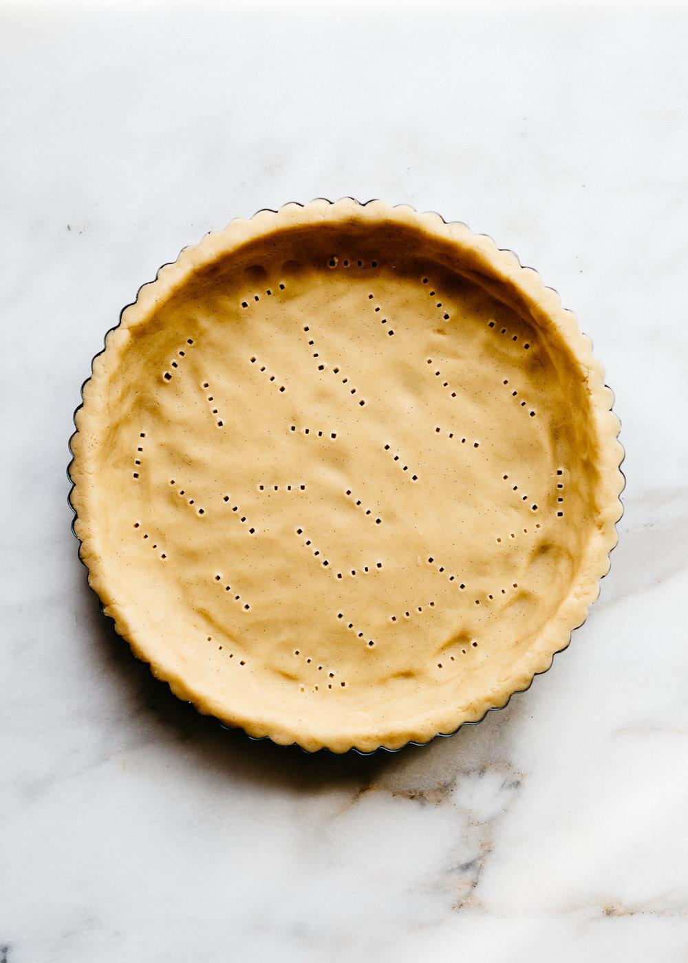 Chocolate-Caramel Macadamia Nut Tart — Fix Feast Flair