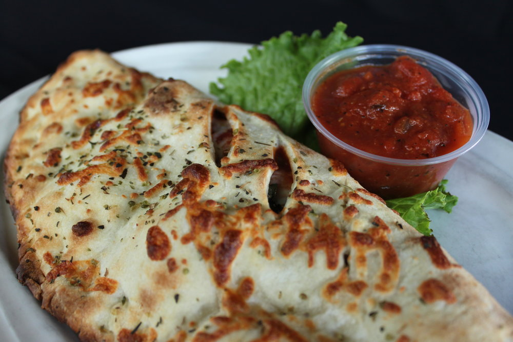 All of our pizzas can be made into a calzone