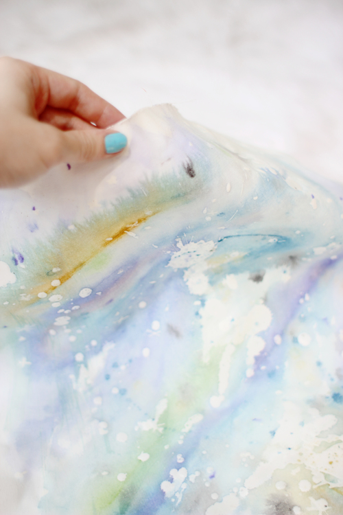 DO IT YOURSELF + WAX RESIST WATERCOLOR ART — Maiedae