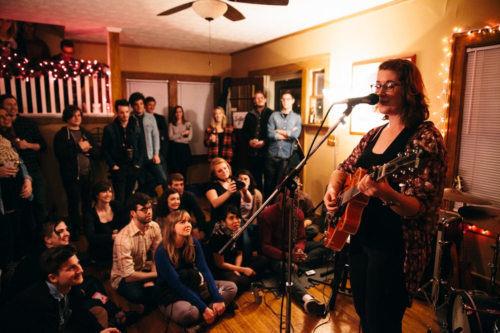 photo by Bridget McQuillan, Sofar Sounds Omaha