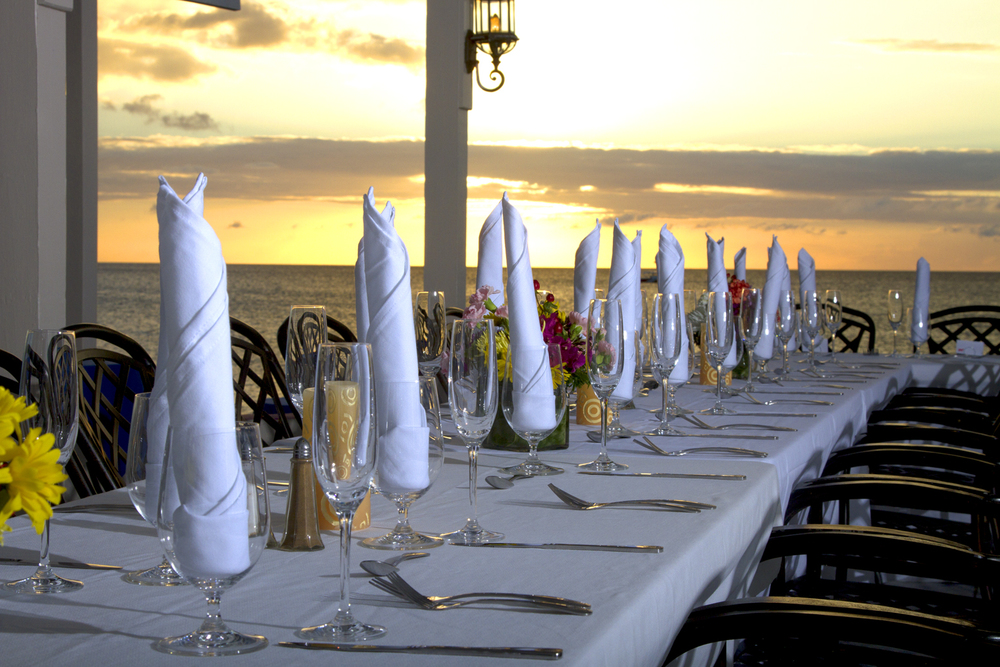 Beach Side Cafe Wedding Reception