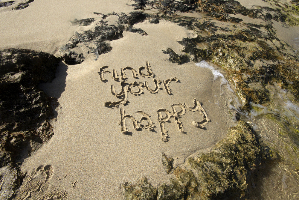Find Your Happy in the Sand