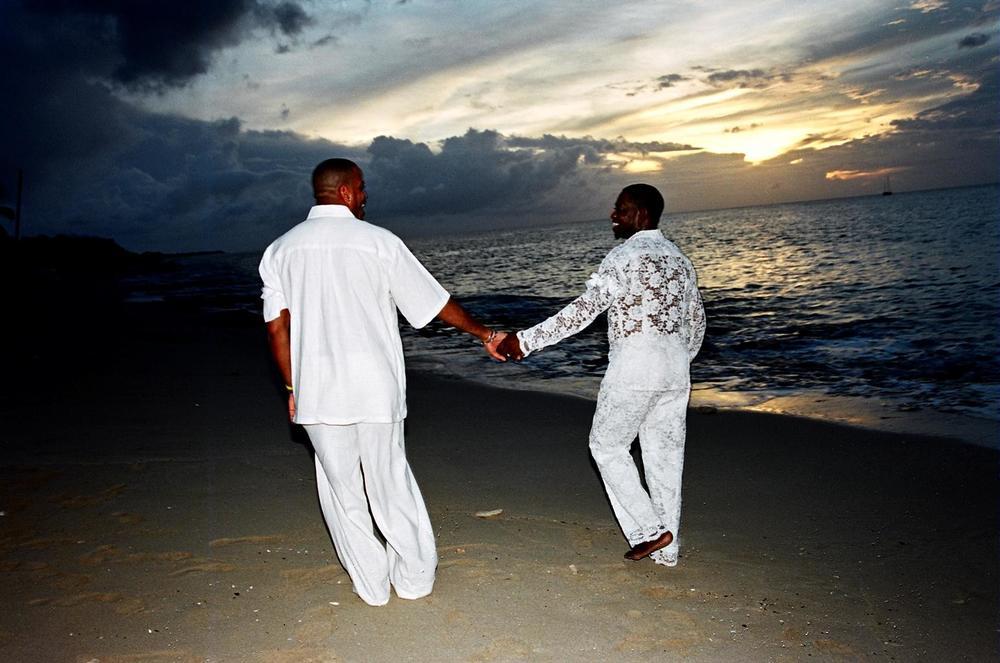 Wedding Romance on the Beach