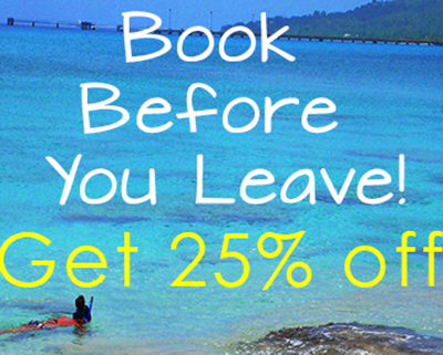 Book Before You Leave