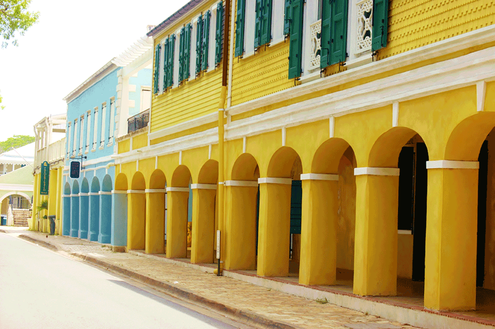 Strand Street in Frederiksted