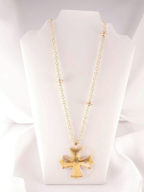 Susan shaw long cross necklace lydia lister jewelry susan shaw long cross necklace aloadofball Choice Image