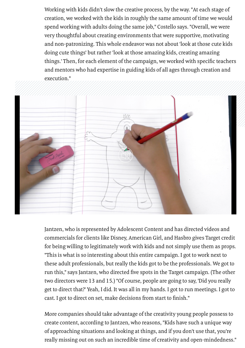 Fast Company - Target Back to School Campaign 2016 (3/3)