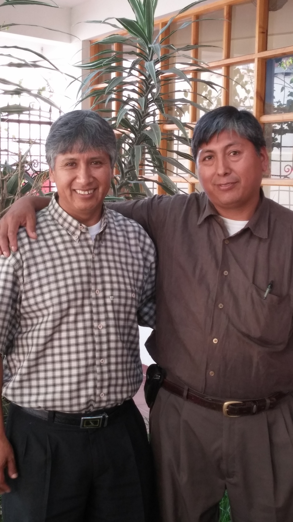 Dr. Jaime and our local Medical Supplies Coordinator, José Choque, worked together to conceive and develop the Solidarity Bridge Mobile Laparoscopic Surgery Unit, which now takes updated surgery techniques to Bolivia's rural poor who most need them.