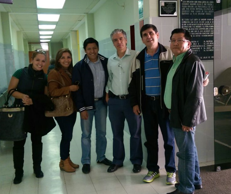 Dr. Brockmann supported the creation of Bolivia's first pediatric heart surgery facilities in a public children's hospital in Santa Cruz by generously sharing his unique expertise. Earlier this year, Carlos personally met a delegation from the Santa Cruz children's hospital that traveled to Cochabamba to tour the renowned Belga Hospital facilities.