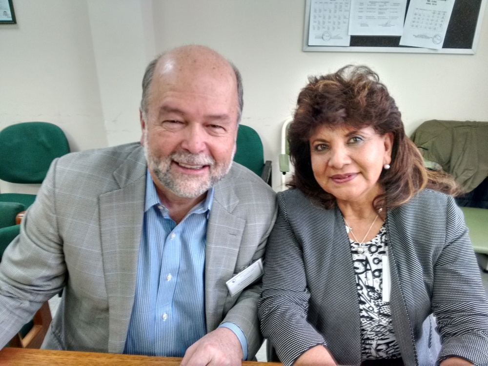 Dr. Richard Moser and Dr. Elizabeth Chavez