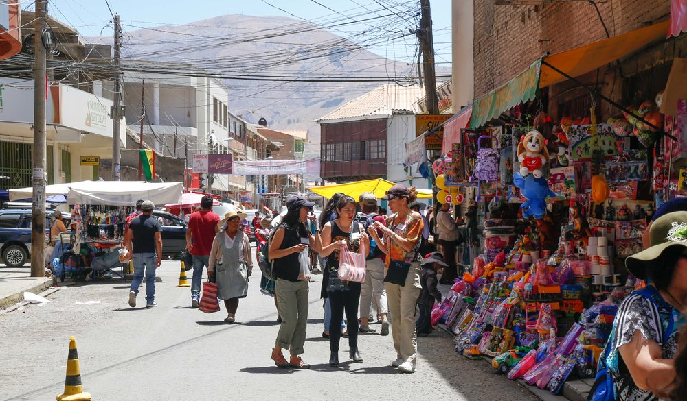 Taking a Tour of Punata, Bolivia