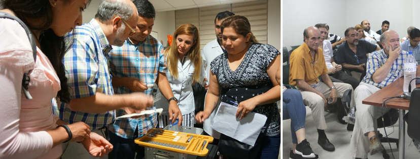 On Sunday, missioners met with colleagues at our host hospital to review surgical cases for the week and prepare necessary supplies.