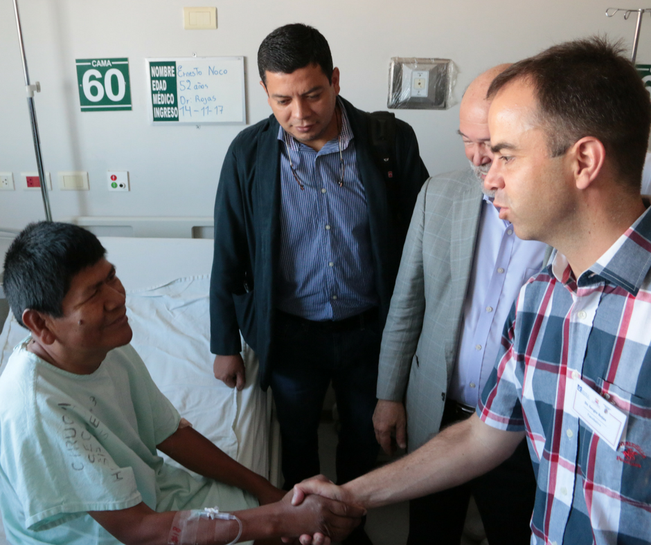 With our patient Ernesto