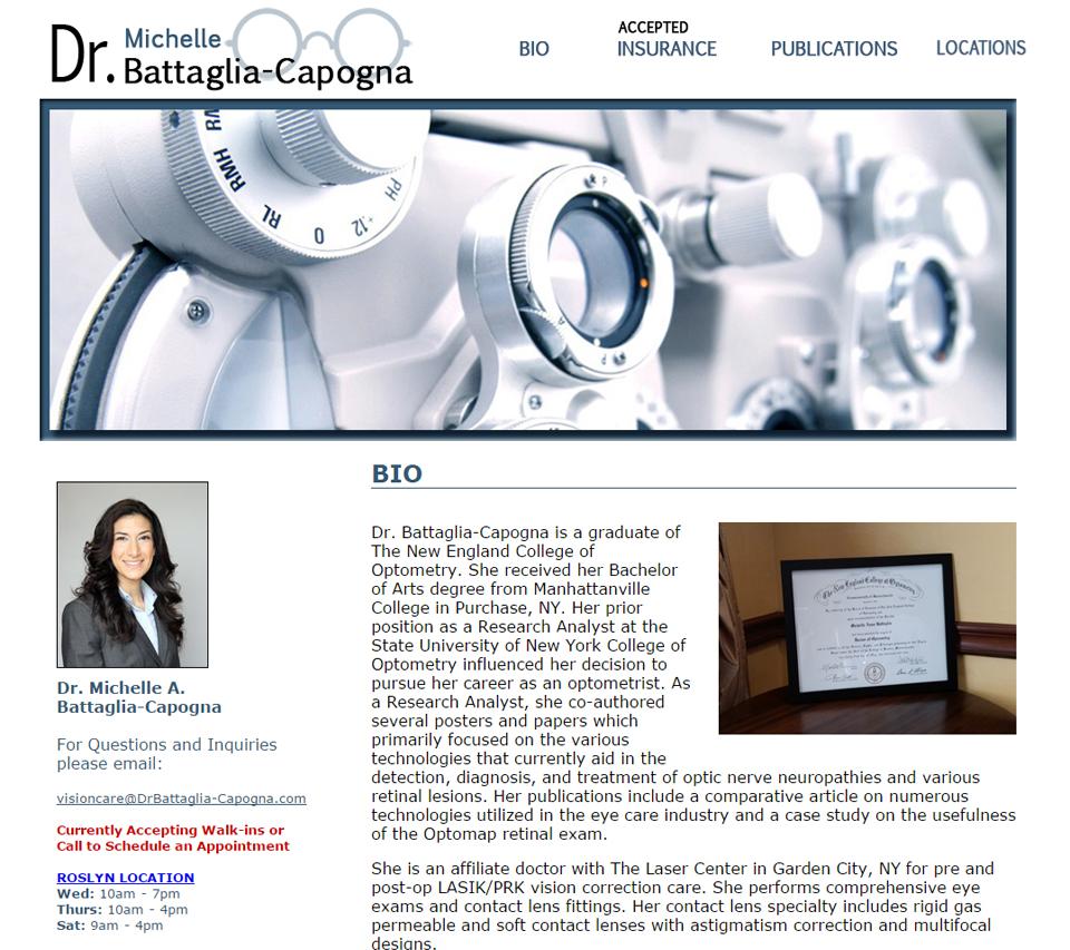 Dr. Michelle Battaglia - Capogna