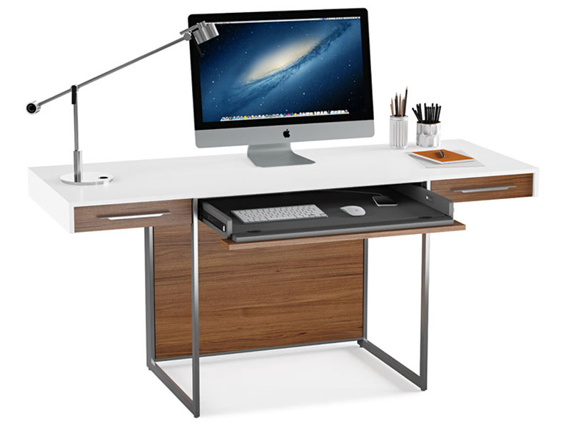 FORMAT  ® DESK 6301    Overall Dimensions:    29.5 x 64.25 x 24.25 in   75 x 163 x 61 cm