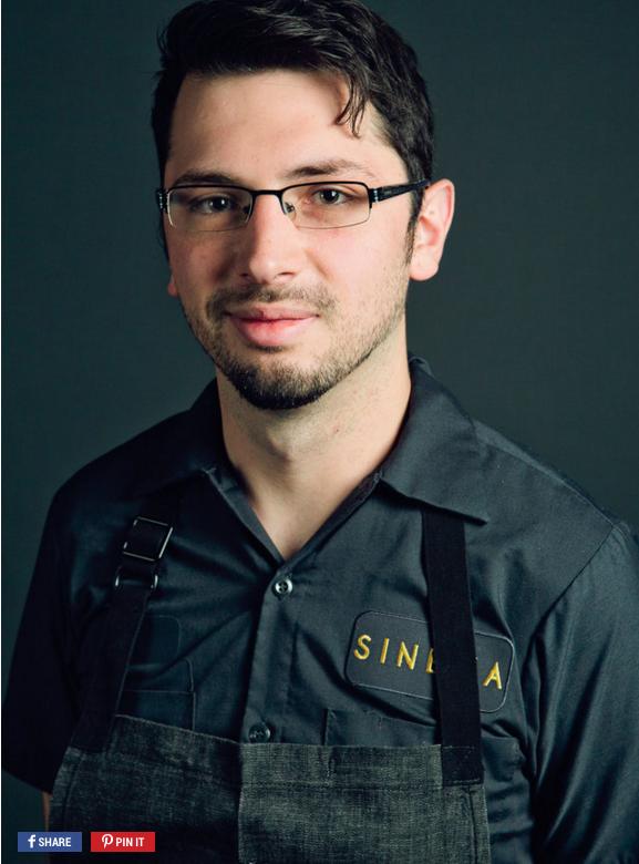 Sinema Chef Kyle Patterson