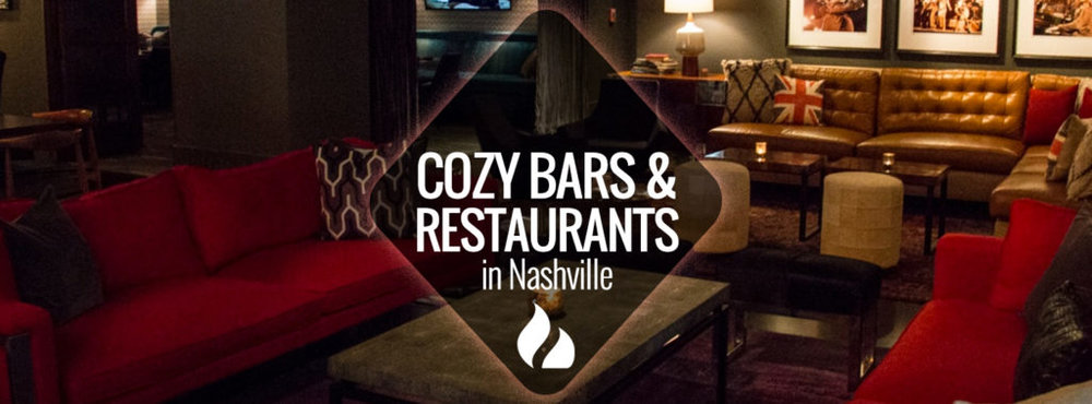When the weather gets cold, it's time to get warm and cozy. But before you give up and hibernate at home in your PJs, try one of these low-lit, cozy spots in Nashville. These restaurants and bars combine a little classiness with coziness for a perfect cold night out on the town.    Read more on  Nashville Guru.