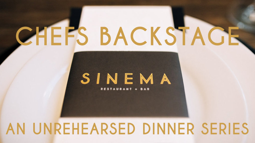 Chefs Backstage is a new dinner series at Sinema and will take place once a month July through October. The events will feature different chefs from around Nashville who will work with Sinema Chef Kyle Patterson. Each meal will be different as the chefs prepare foods they enjoy eating in a family-style setting. Each dinner is $100 per person and includes a cocktail reception, dinner with pairings, and tax and gratuity.   Read more on Nashville Guru  here .