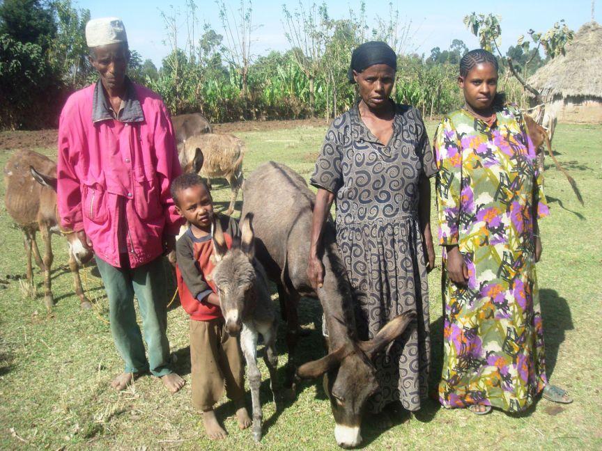 Ethiopian family and donkeys.jpg