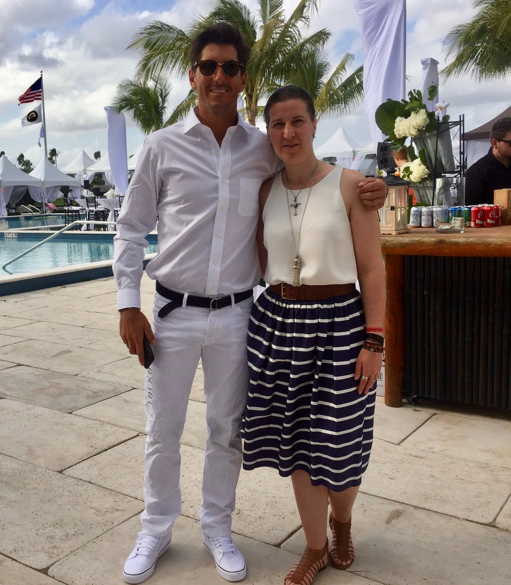 Nic Roldan & Natascha Baecher; Nic Roldan's 2nd Annual Sunset Polo & White Party.jpg